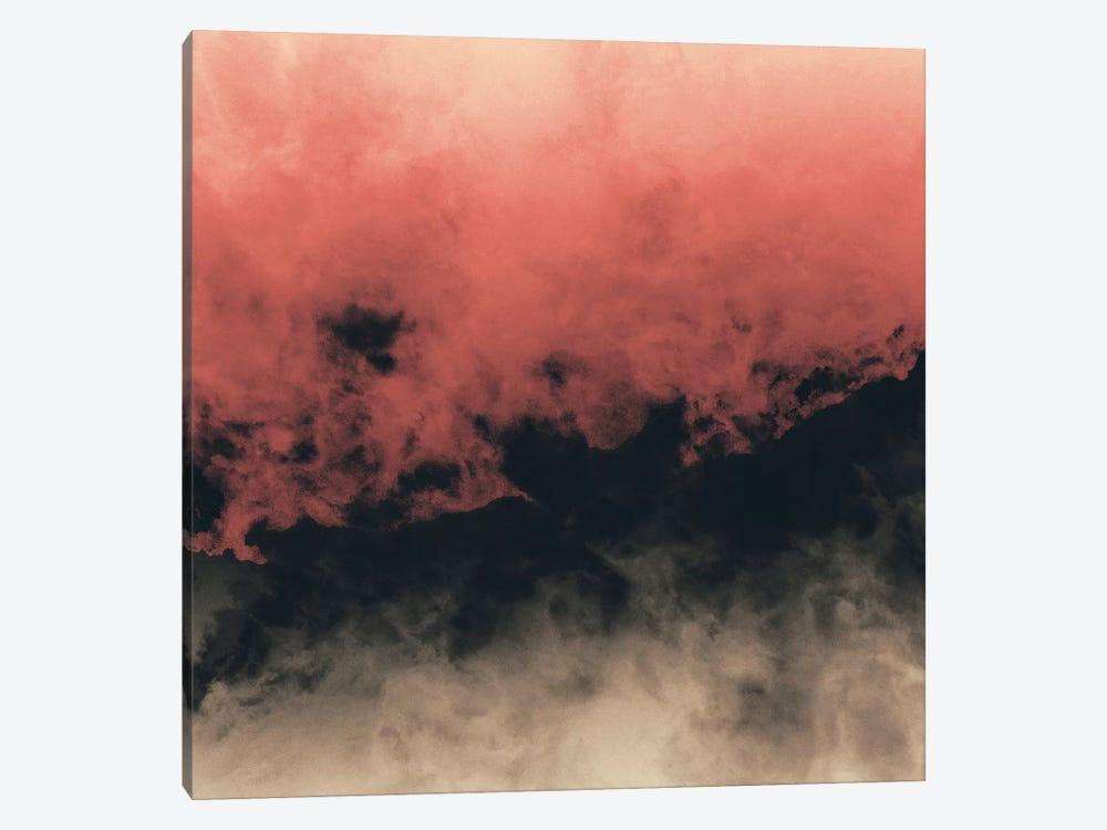 Zero Visibility Dust by Caleb Troy 1-piece Canvas Wall Art