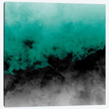 Zero Visibility Emerald Canvas Print #CLB46} by Caleb Troy Canvas Wall Art