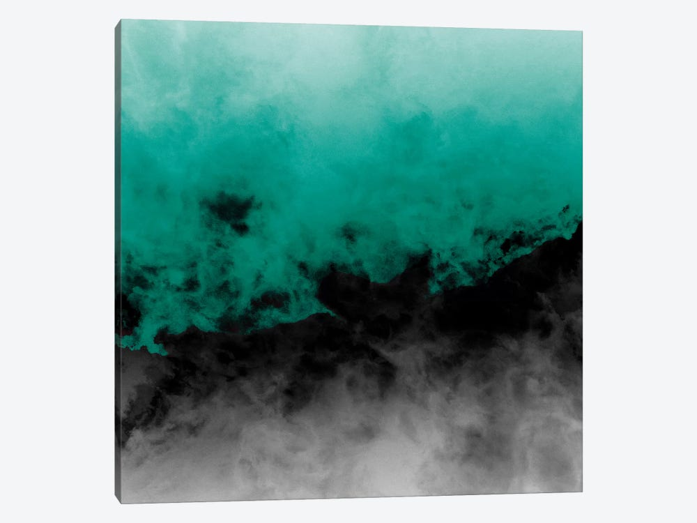 Zero Visibility Emerald by Caleb Troy 1-piece Art Print