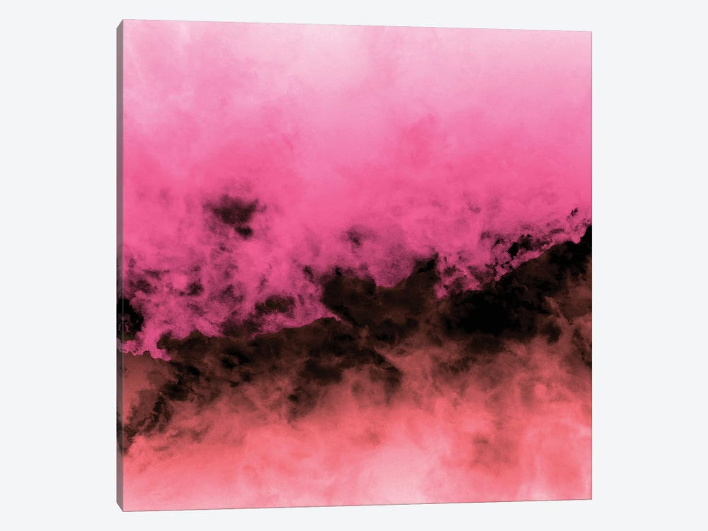 Zero Visibility Highlighter Dust by Caleb Troy 1-piece Canvas Art