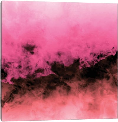 Zero Visibility Highlighter Dust Canvas Art Print