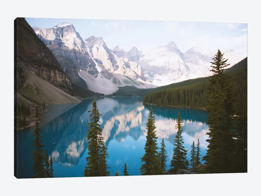 Mountain Reflection by Caleb Troy 1-piece Canvas Artwork