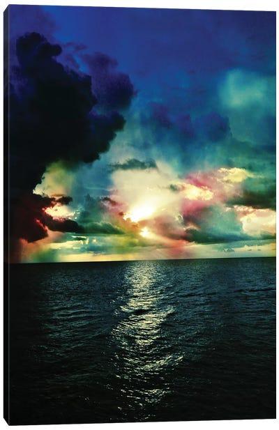 Red Skies At Night Canvas Art Print