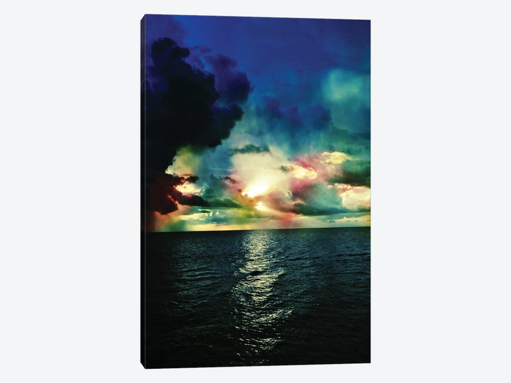 Red Skies At Night by Caleb Troy 1-piece Canvas Artwork