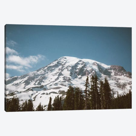 Retro Rainier Canvas Print #CLB57} by Caleb Troy Canvas Art Print