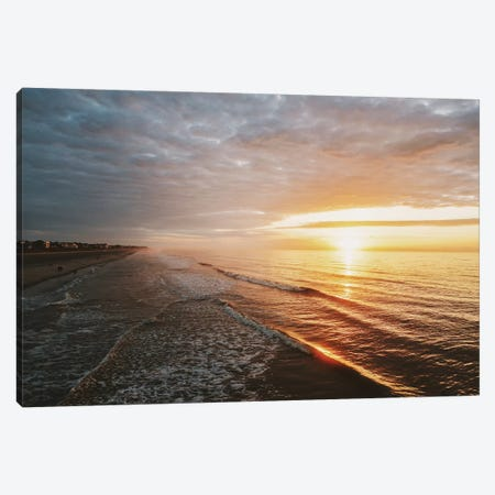 Surf & Sun Canvas Print #CLB59} by Caleb Troy Canvas Artwork