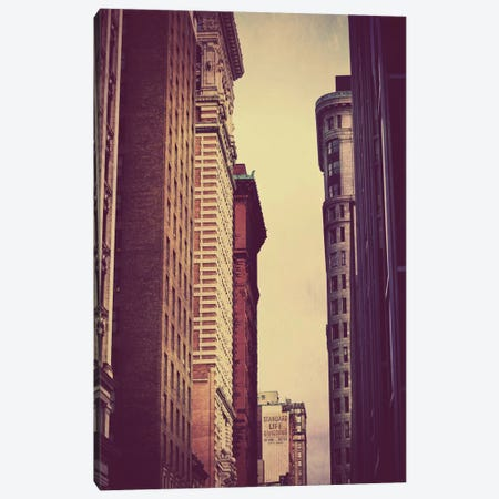 Vertical Skyline Canvas Print #CLB61} by Caleb Troy Art Print