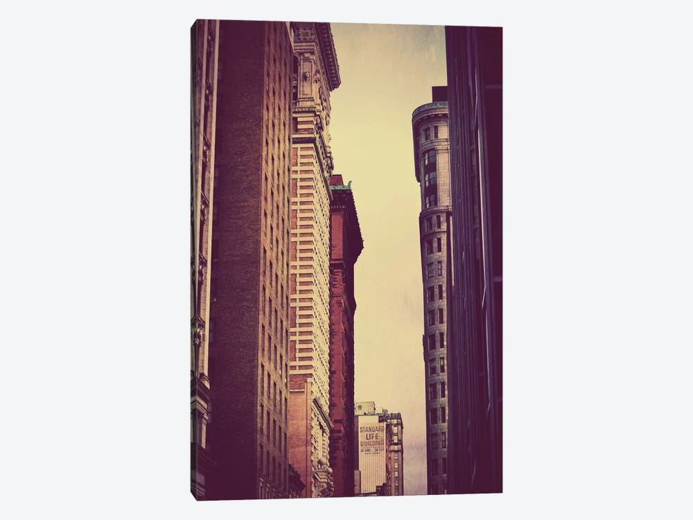 Vertical Skyline 1-piece Canvas Wall Art