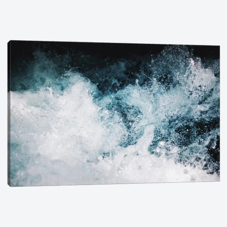 Blue Swells Canvas Print #CLB6} by Caleb Troy Canvas Artwork