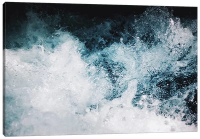 Blue Swells Canvas Art Print