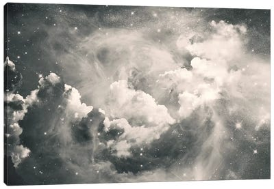 Find Me Among The Stars Canvas Art Print