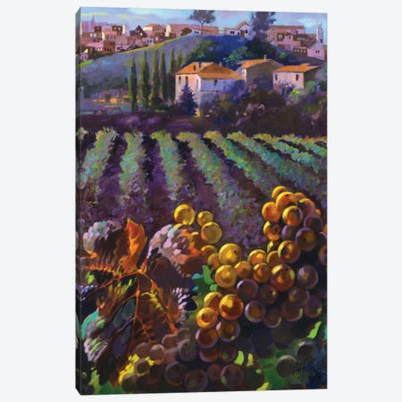 View Of Tuscany Canvas Print #CLF2} by Clif Hadfield Canvas Print