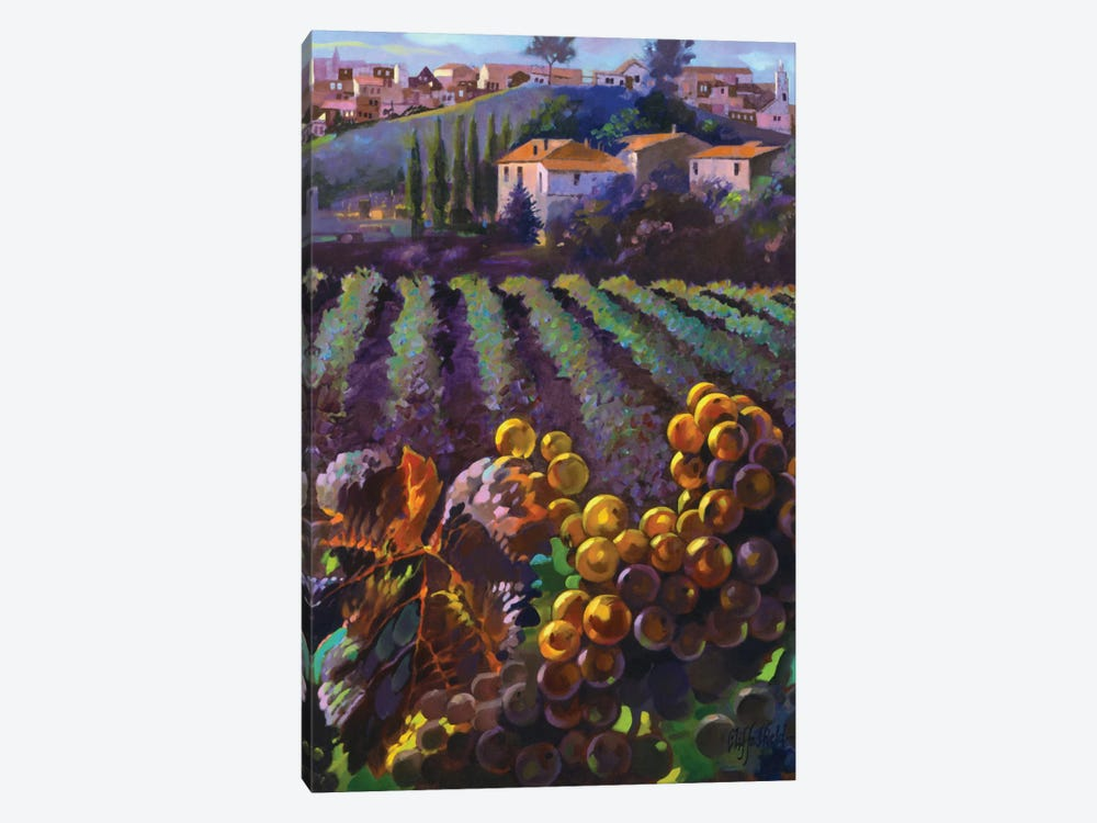 View Of Tuscany by Clif Hadfield 1-piece Art Print