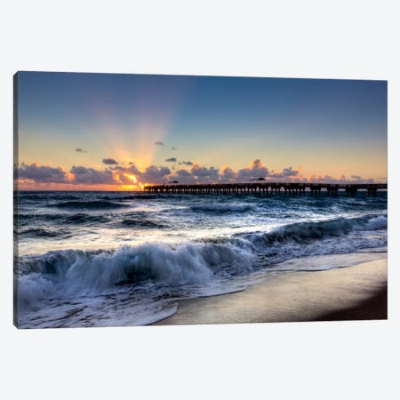 The Wave Canvas Print #CLG3} by Celebrate Life Gallery Canvas Artwork