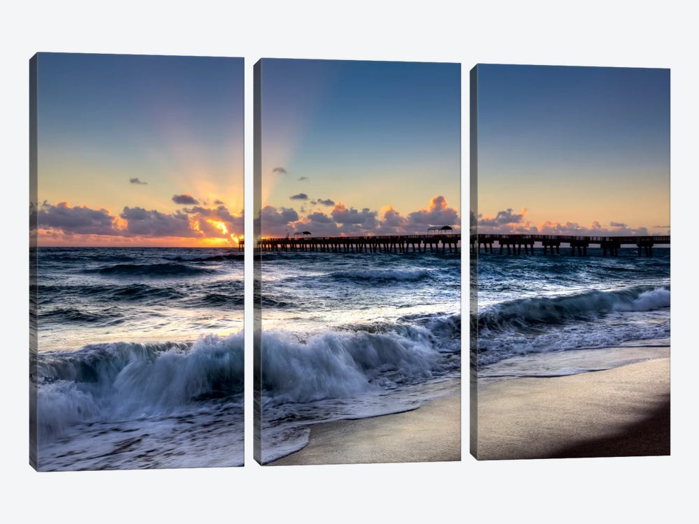 The Wave by Celebrate Life Gallery 3-piece Canvas Print
