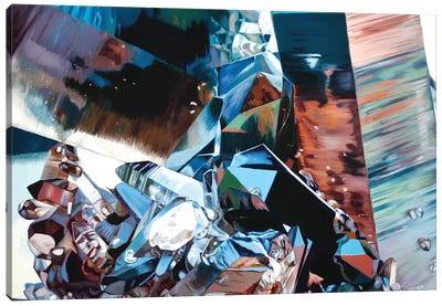 Dark Smoky Quartz Canvas Art Print