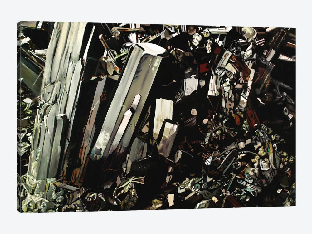 Epidote by Chloe Hedden 1-piece Canvas Wall Art