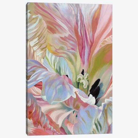 Parrot Tulip I Canvas Print #CLH82} by Chloe Hedden Canvas Print
