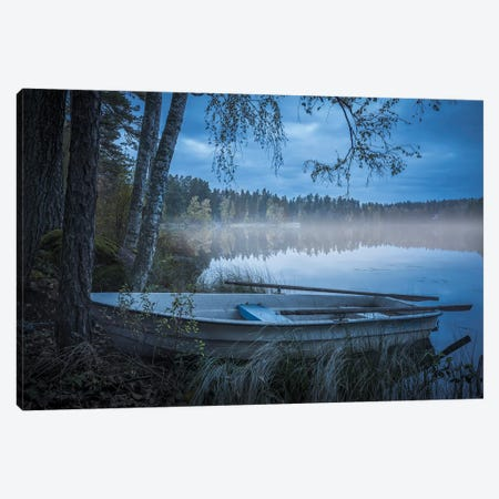 Lake Of Mist Canvas Print #CLI28} by Christian Lindsten Canvas Art