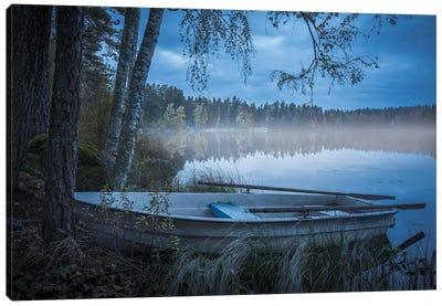 Lake Of Mist Canvas Art Print