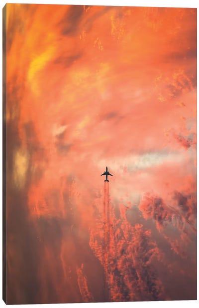 Airplane Canvas Art Print