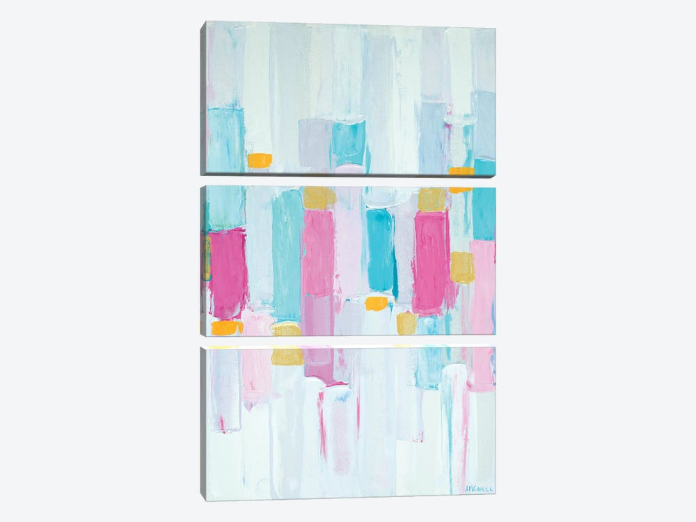 Cool Rhizome I by Ann Marie Coolick 3-piece Canvas Print