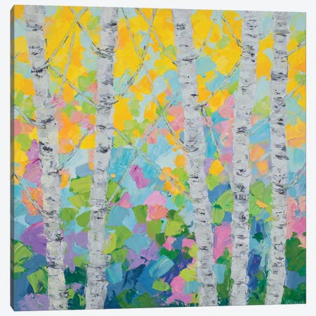 Dancing Birch Tree II Canvas Print #CLK20} by Ann Marie Coolick Canvas Artwork