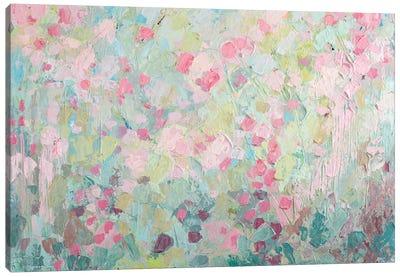 Dancing Sakura Tree Canvas Art Print