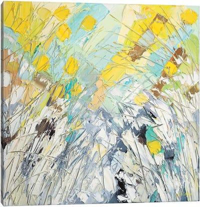 February Blooms Canvas Art Print