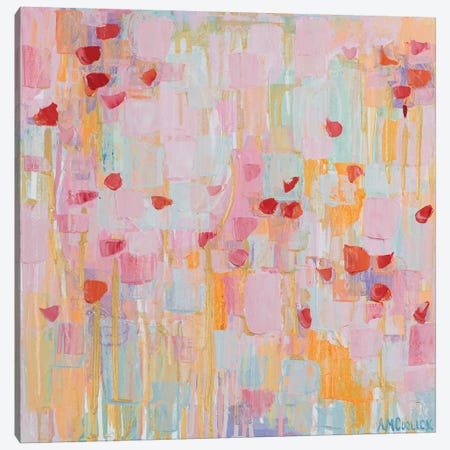Flutter Kisses I Canvas Print #CLK23} by Ann Marie Coolick Canvas Artwork