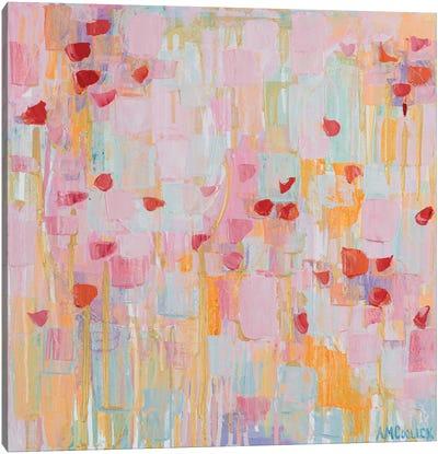 Flutter Kisses I Canvas Art Print