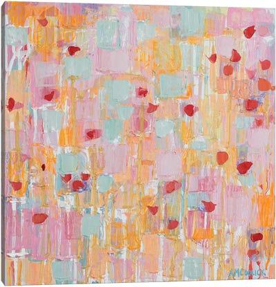 Flutter Kisses II Canvas Art Print