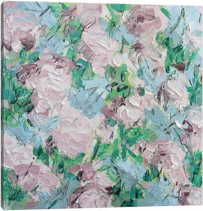 Kwanzan Cherry Canvas Art Print