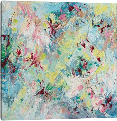 Prunus Serrulata Canvas Art Print