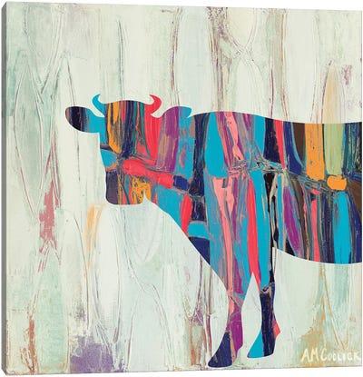 Rhizome Cow Canvas Art Print