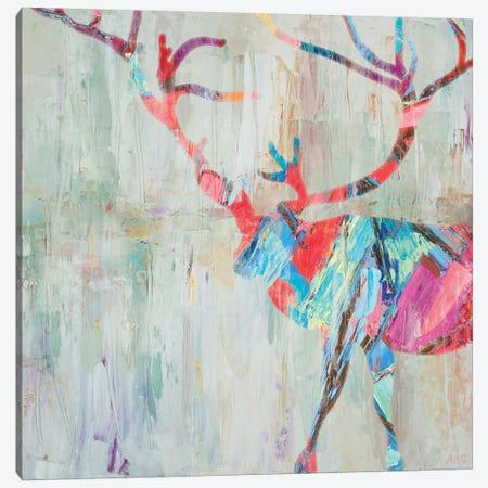 Rhizome Deer Canvas Print #CLK31} by Ann Marie Coolick Art Print