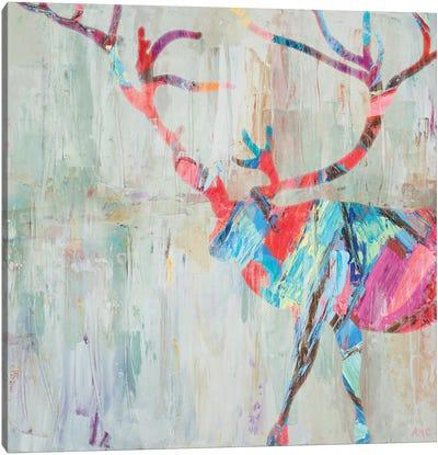 Rhizome Deer Canvas Art Print