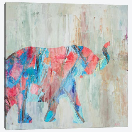 Rhizome Elephant Canvas Print #CLK32} by Ann Marie Coolick Art Print