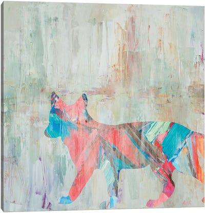 Rhizome Fox Canvas Art Print