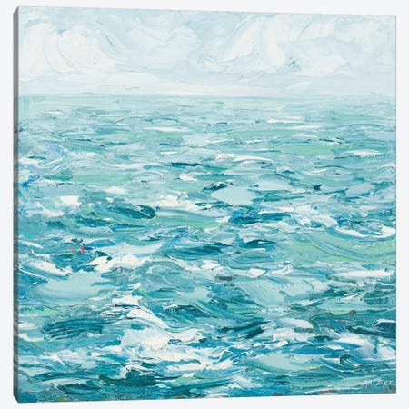 Rough Waters Canvas Print #CLK35} by Ann Marie Coolick Canvas Artwork