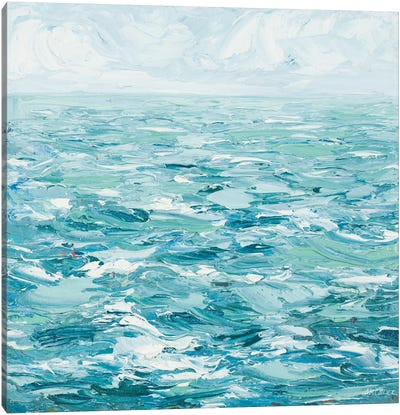 Rough Waters Canvas Art Print