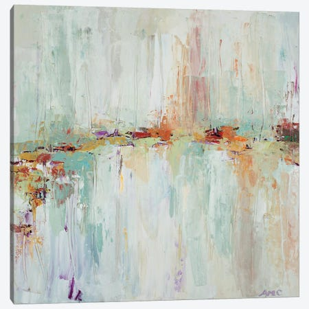Abstract Rhizome Square Canvas Print #CLK40} by Ann Marie Coolick Canvas Artwork