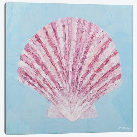 Conch & Scallop II Canvas Print #CLK43} by Ann Marie Coolick Canvas Wall Art