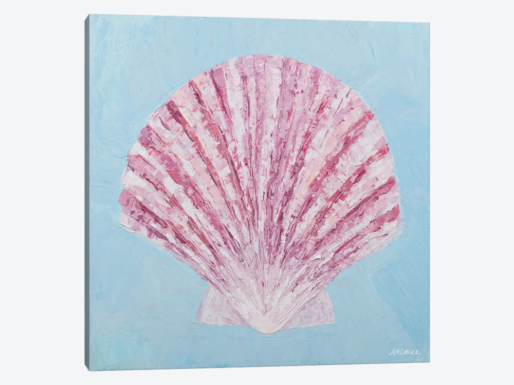 Conch & Scallop II by Ann Marie Coolick 1-piece Canvas Artwork