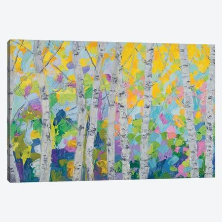 Dancing Birch Tree Canvas Print #CLK44} by Ann Marie Coolick Art Print