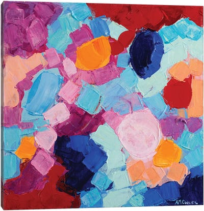 Flower Amoebic Party I Canvas Art Print