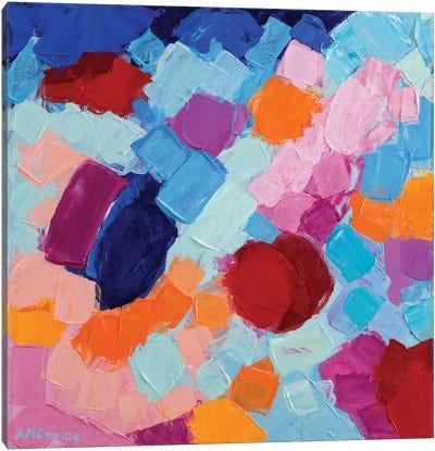 Flower Amoebic Party II Canvas Art Print