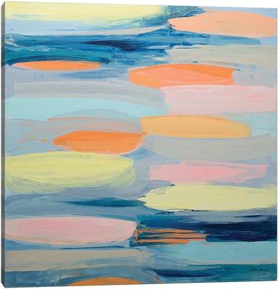 Just Peachy Canvas Art Print