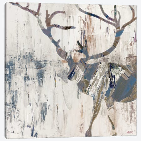 Neutral Rhizome Deer Canvas Print #CLK50} by Ann Marie Coolick Canvas Art Print