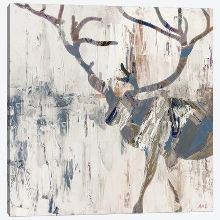 Neutral Rhizome Deer Canvas Print #CLK50} by Ann Marie Coolick Canvas Art Print